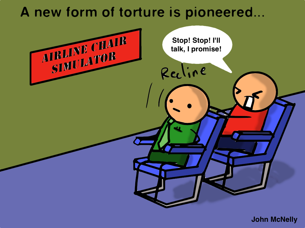 Airline Seat Torture