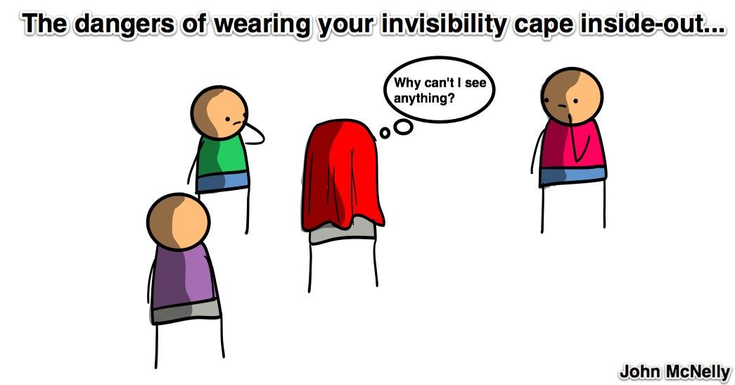 Invisibility Caper