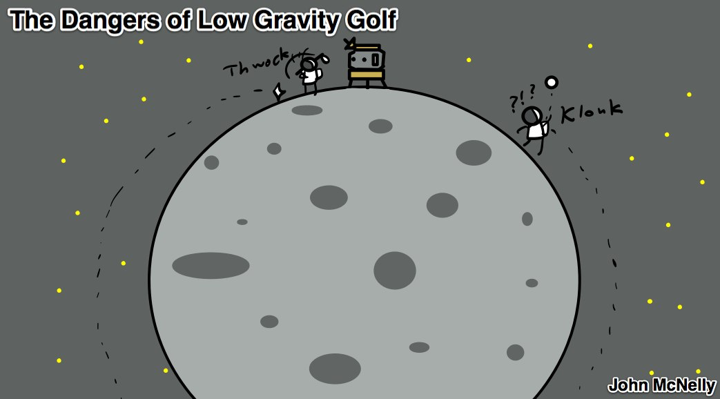 Low Gravity Golf