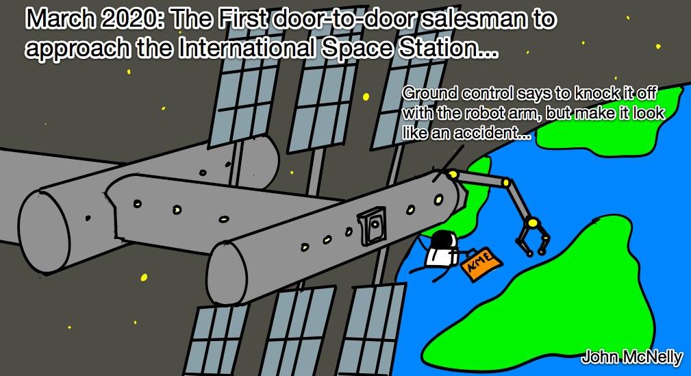 Salesman at ISS