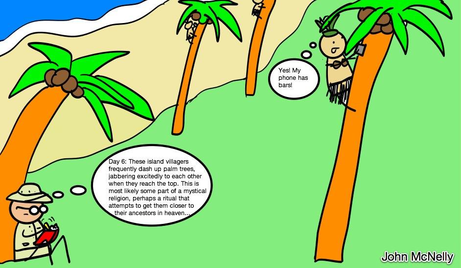 Treeclimbing Island Tribe
