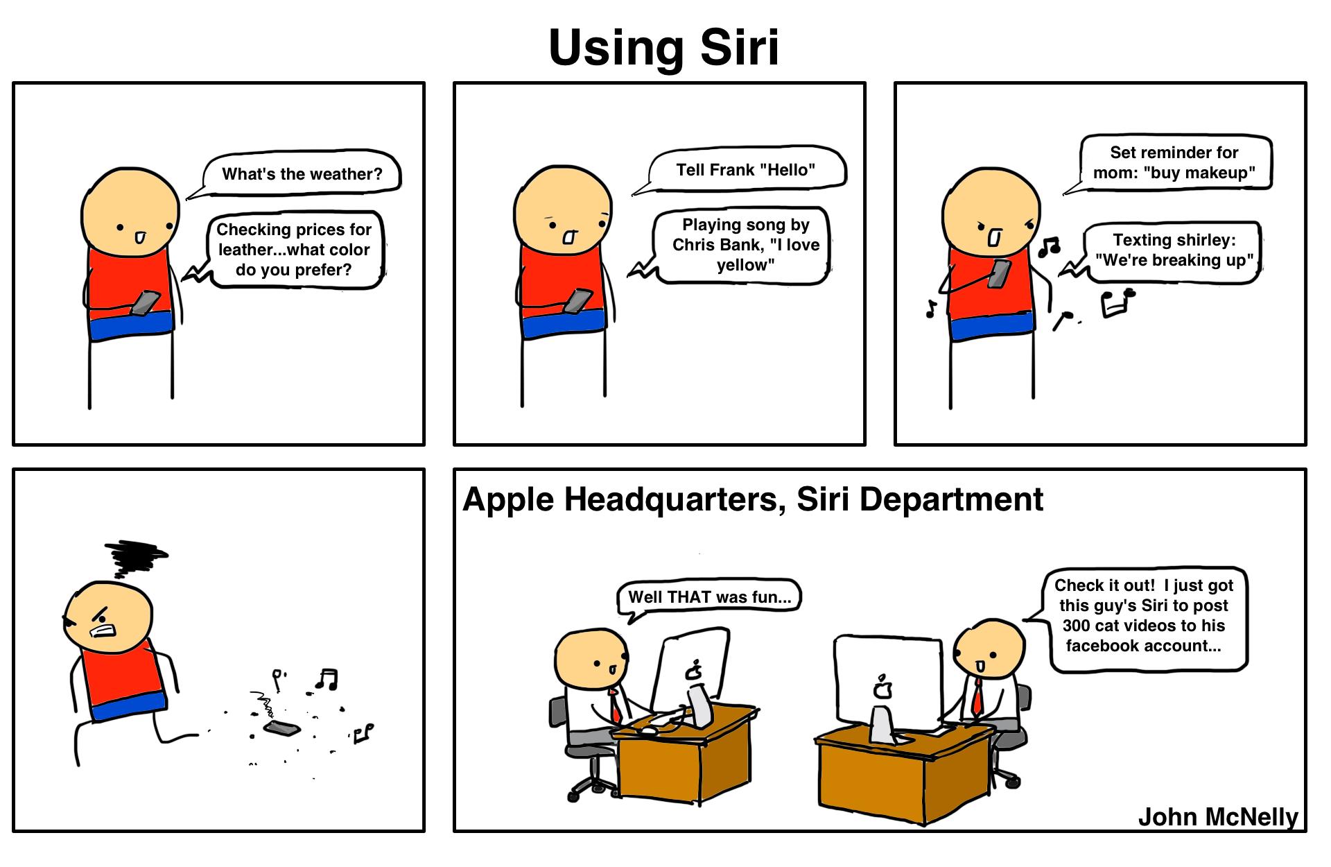 Using Siri