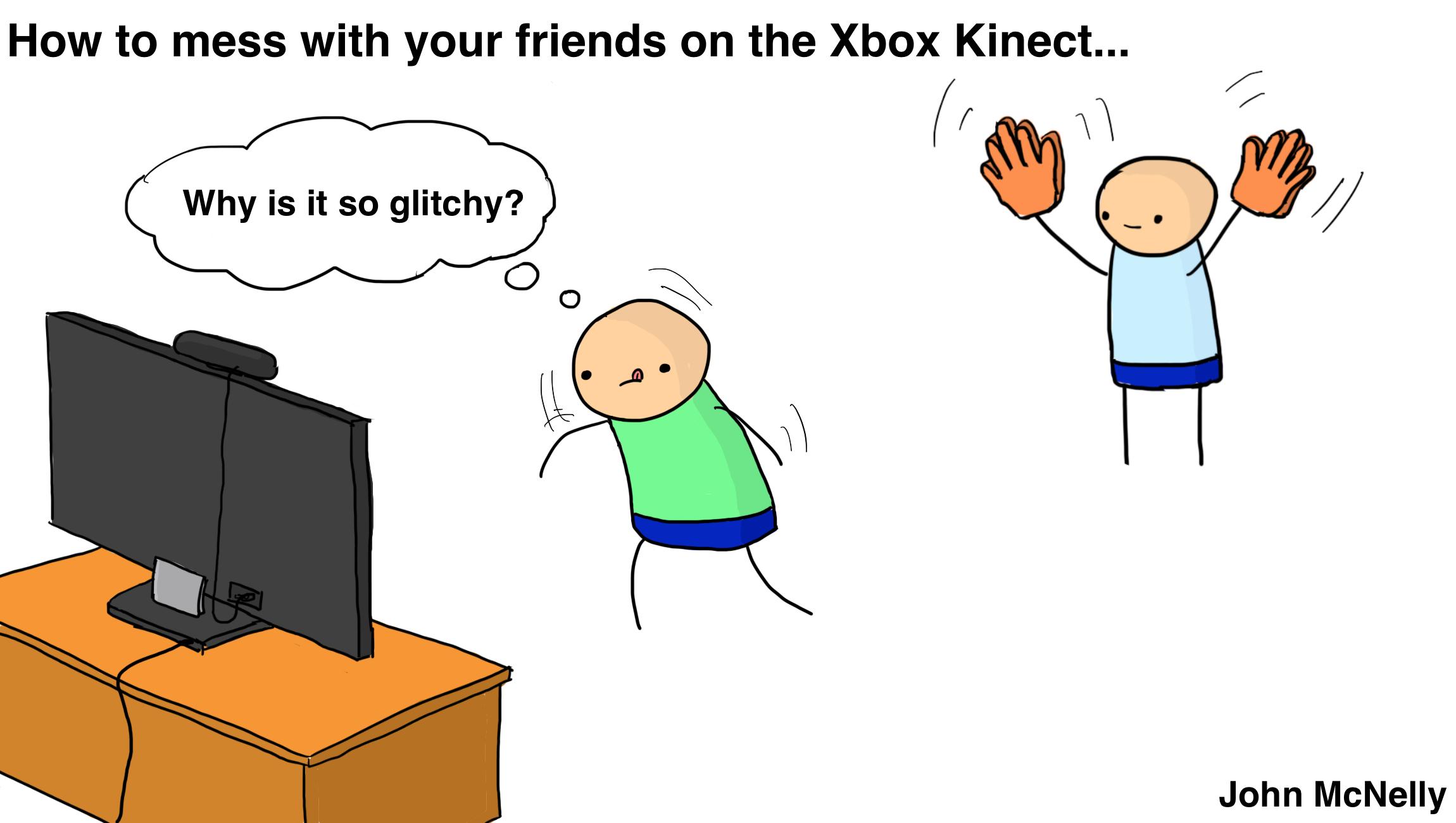 Xbox Kinect Pranks
